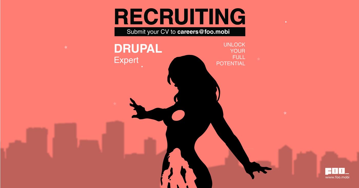 Drupal Developer #0062 job at FOO in Sin El Fil, Lebanon
